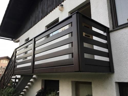 Balkonske ograje (vzdolžni stil) (5)